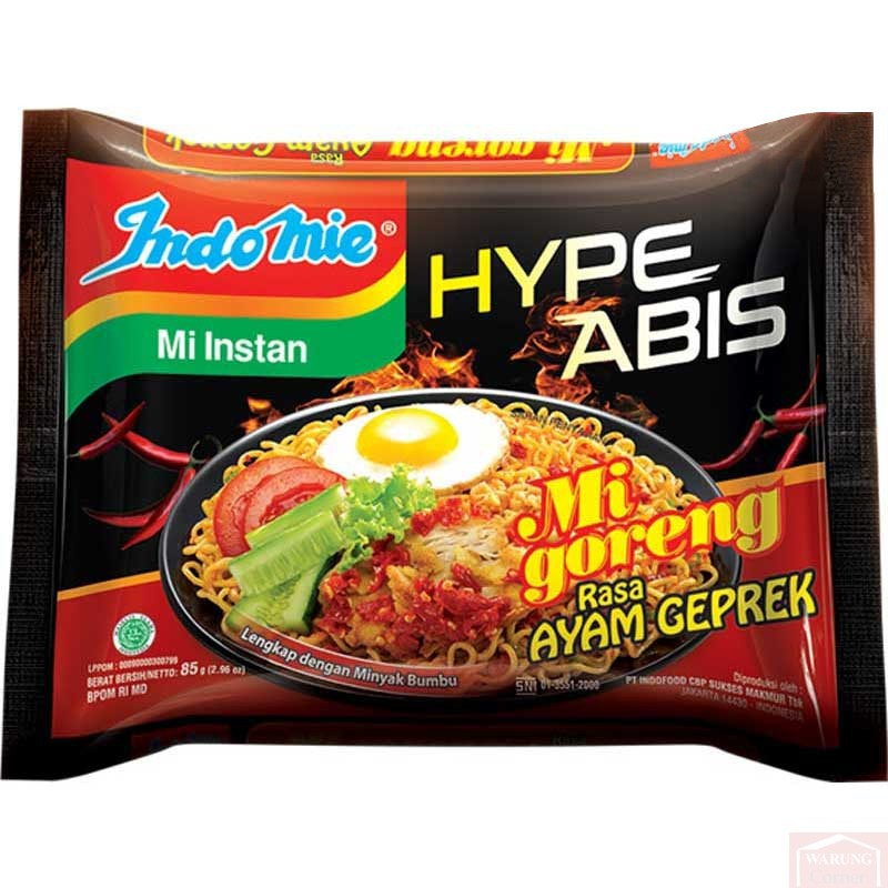"""""""Poulet épicé"""" Hype Abis Ayam Geprek 85g"""