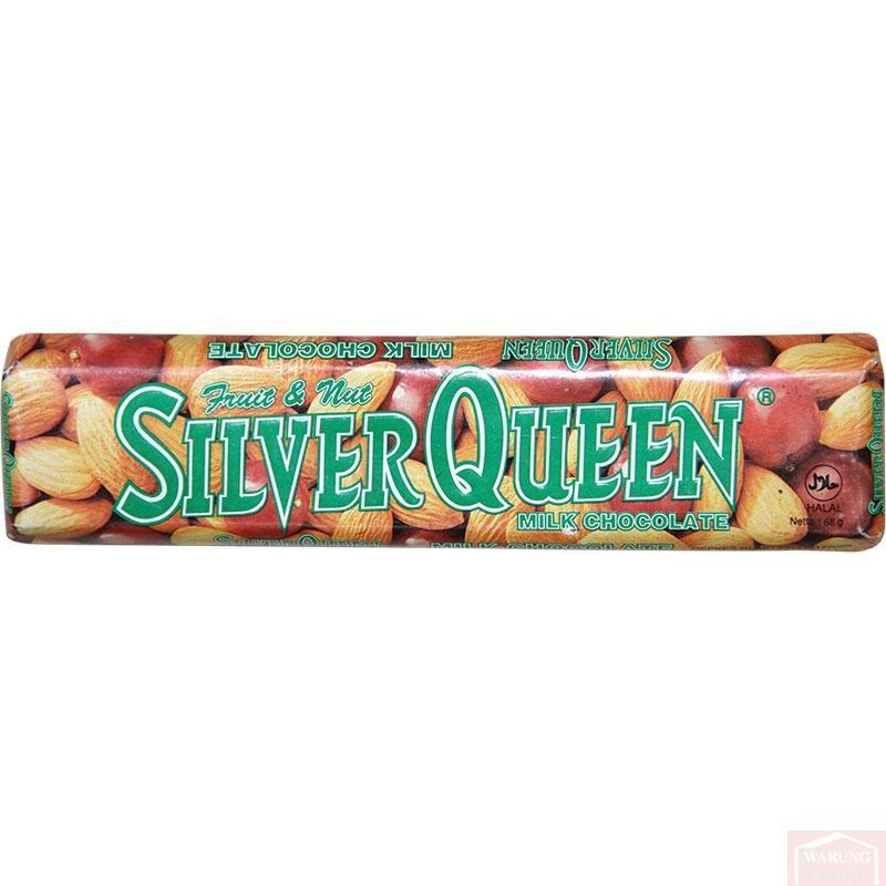 Chocolat SilverQueen Lait Fruits & Noix 65g