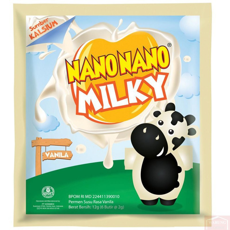 Nano Nano Milky Vanille 12G