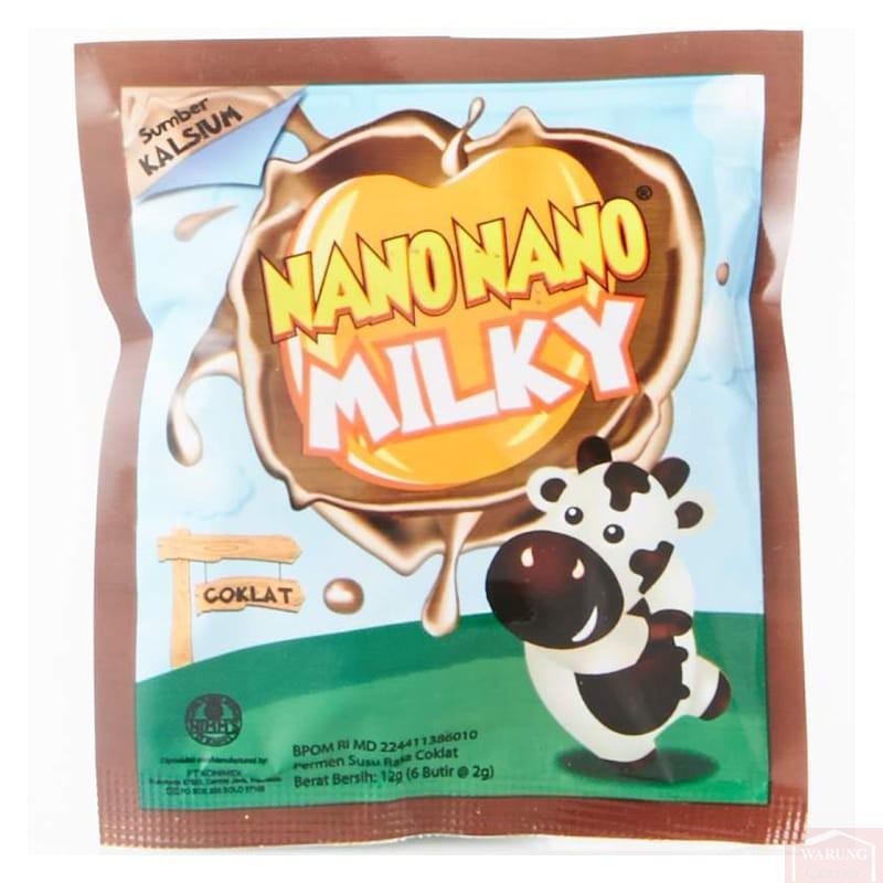 Nano Nano Milky Chocolat 12g