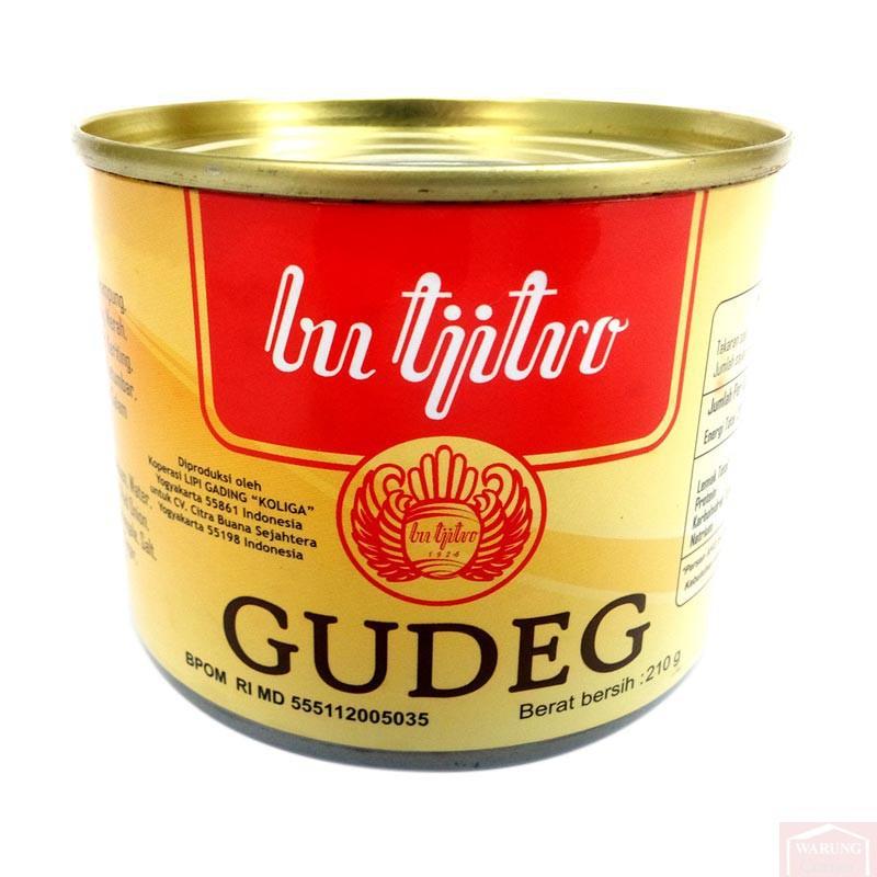 Bu Tjitro Gudeg Original 210g