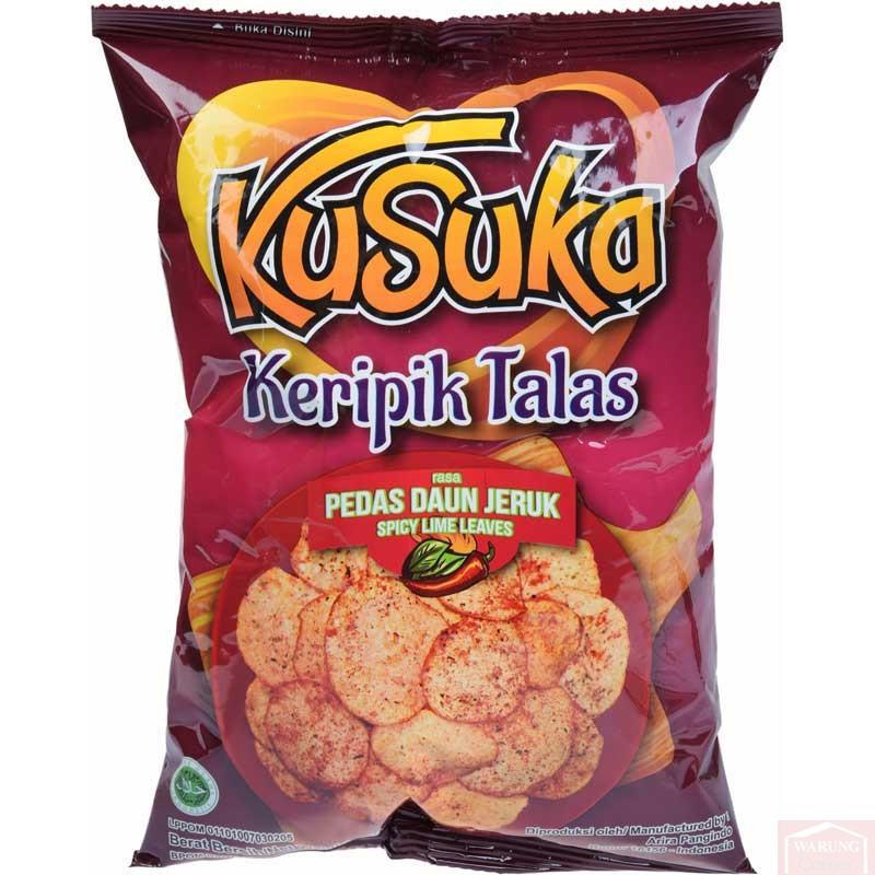 Chips de Taro au Piment Kusuka 40g