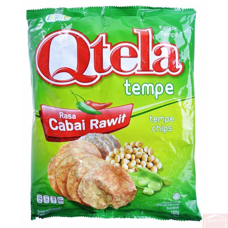 Chips de Tempe Épicé Qtela 180g
