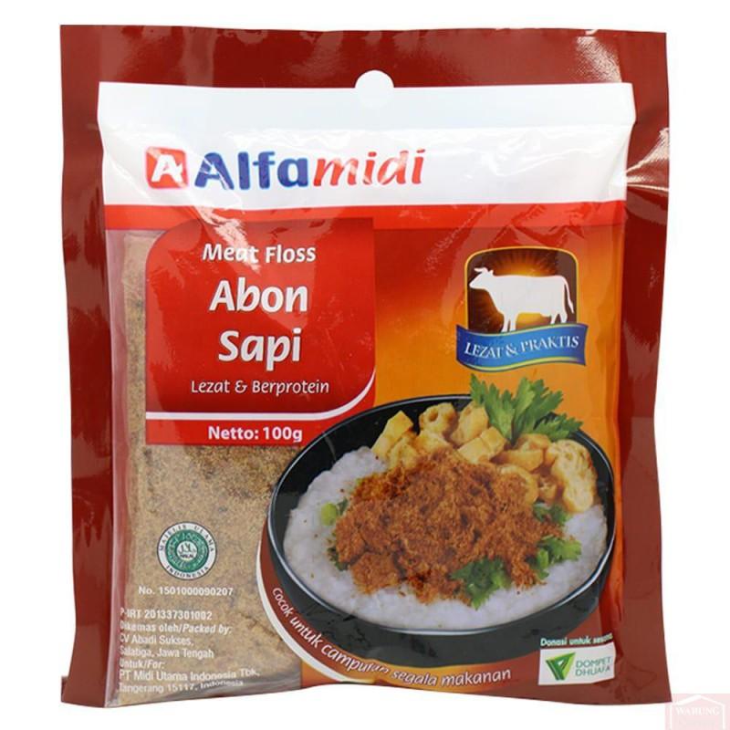 Viande séchée de bœuf en poudre (Abon Sapi) 100g
