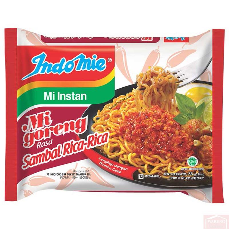 """""""Sauce chili"""" Goreng Sambal Rica-Rica 85g"""