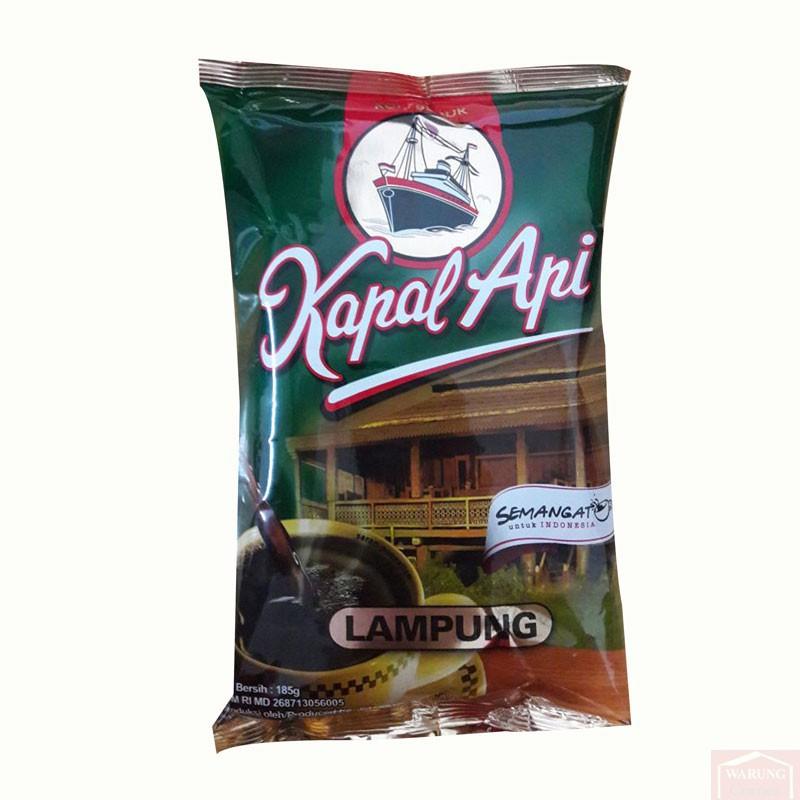 Café Kapal Api Lampung  185 Gr