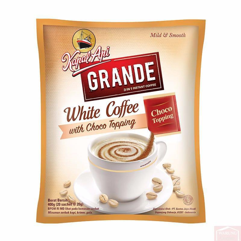 Café blanc Kapal Api Grande 20x20g