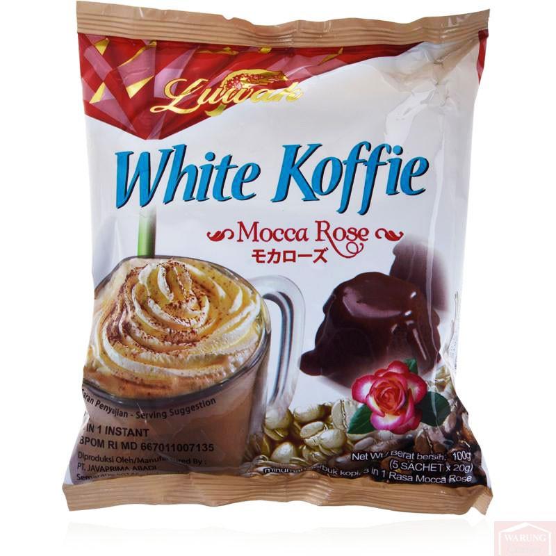 Café blanc Luwak Mocha Rose 100g