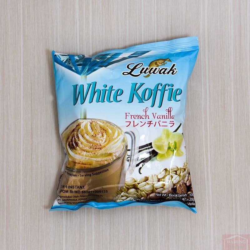 Café blanc Luwak Vanille 100g (5 x 20g)
